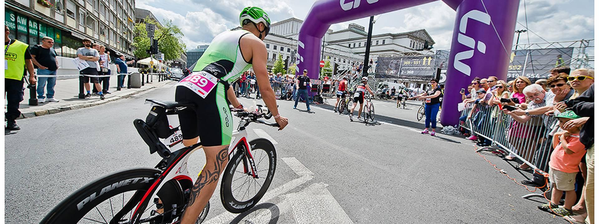 triathlon w warszawie